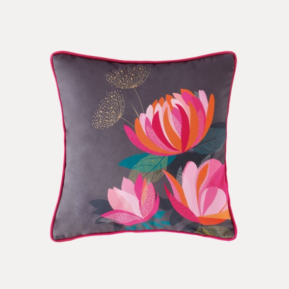 Peony Feather Filled Cushion