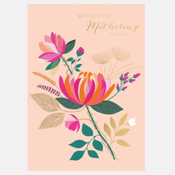 Peony with Love Mother's Day Card