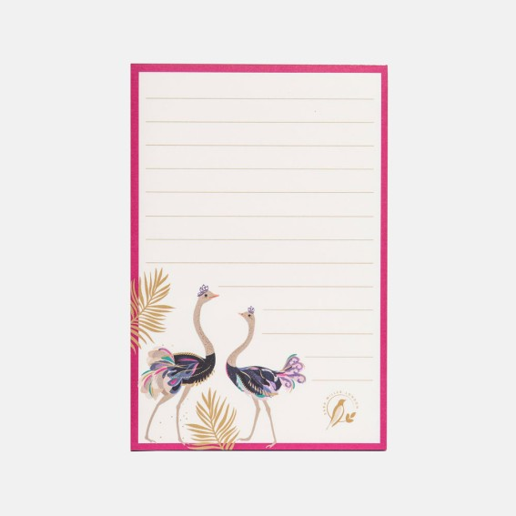 Ostrich Magnetic Jotter