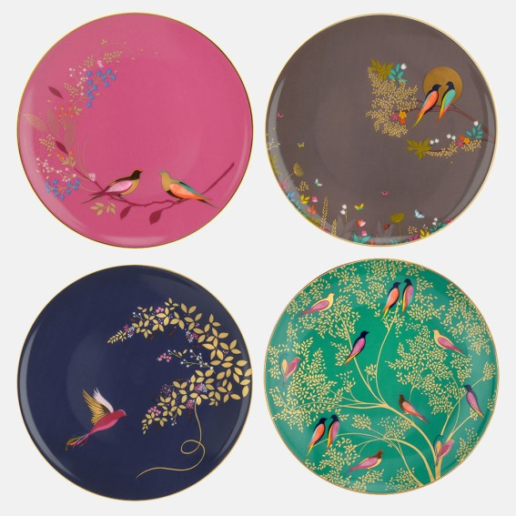 Chelsea Cake Plates - Assorted Set of 4