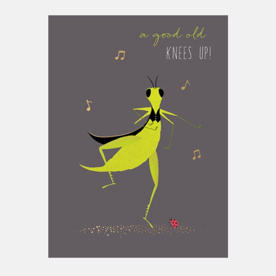 Knees Up Card