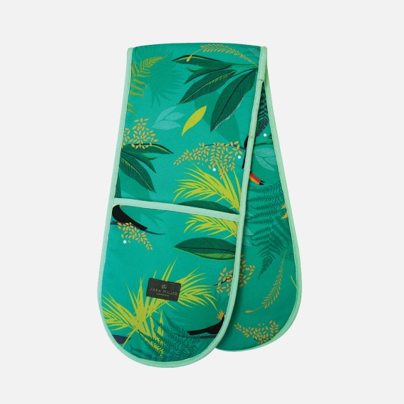 Toucan Double Oven Gloves